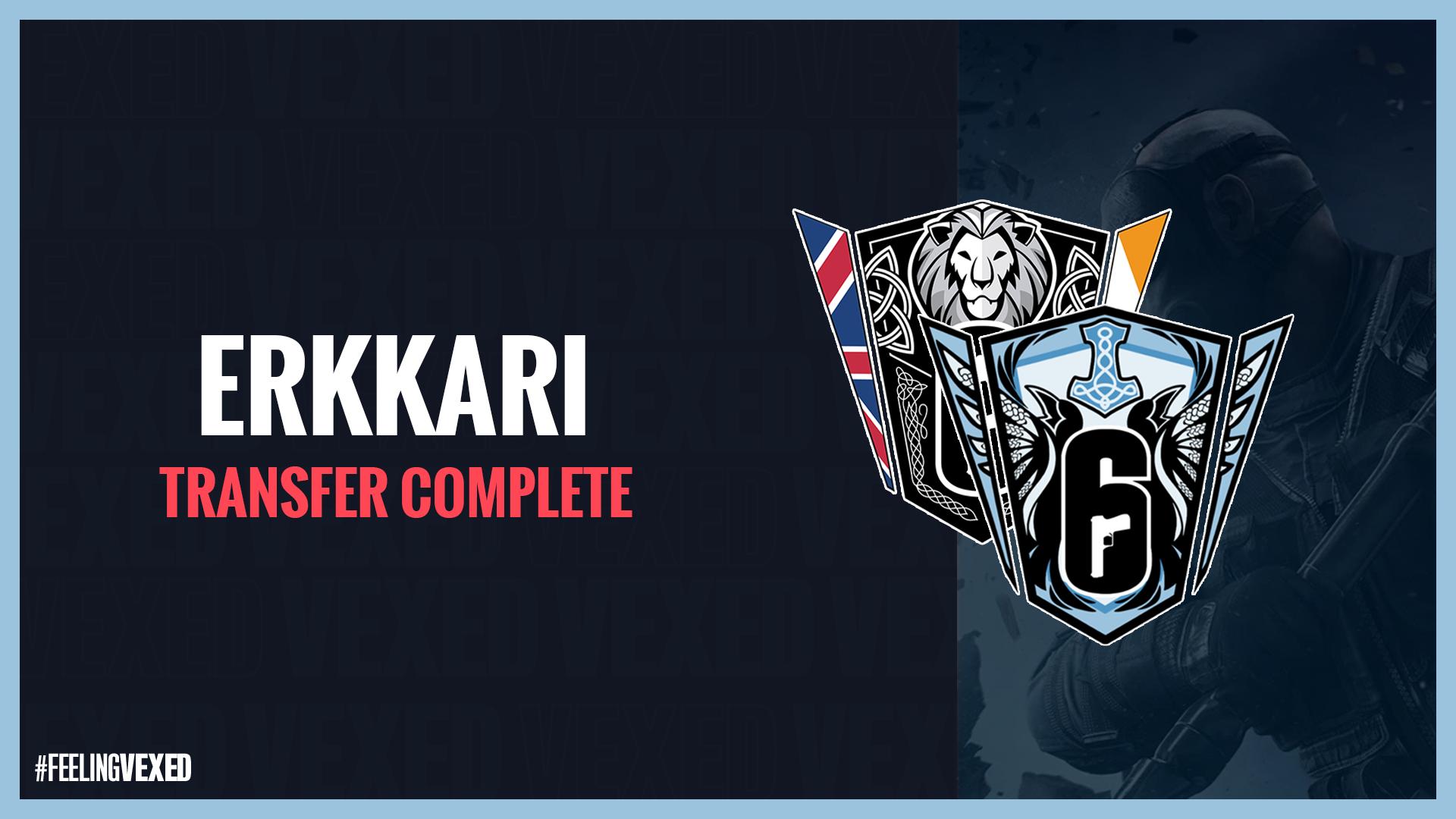 ERKKARI Transfered to Prima Esports Will play in Nordic Championships